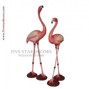 Flamingo Set of 2 Birds