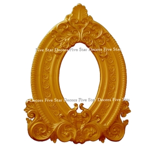 Oval Frame Panel