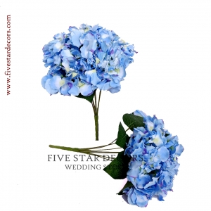 Hydrangea Bunch of 7 Flowers